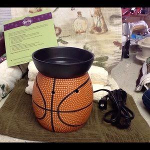 Scentsy basketball warmer